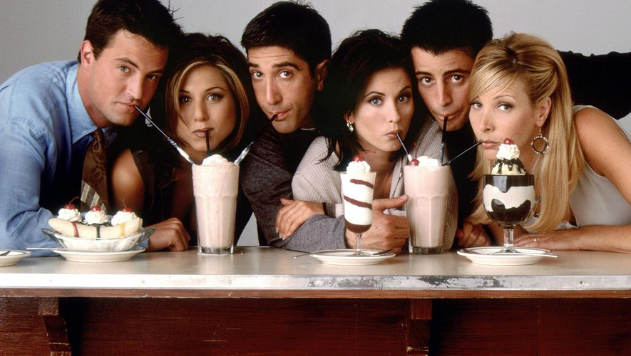 """""""Friends"""" est la série la plus visionnée en streaming au Royaume-Uni."""