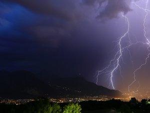 Alerte aux orages en Aveyron