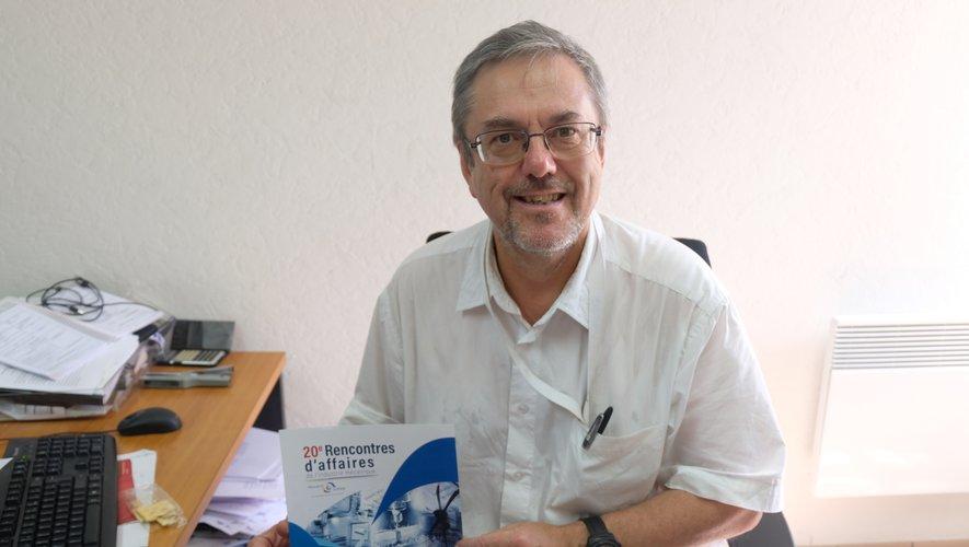 Hervé Danton est le directeur de la Mécanic Vallee, un cluster d'industries et de recherche sur quatre départements.