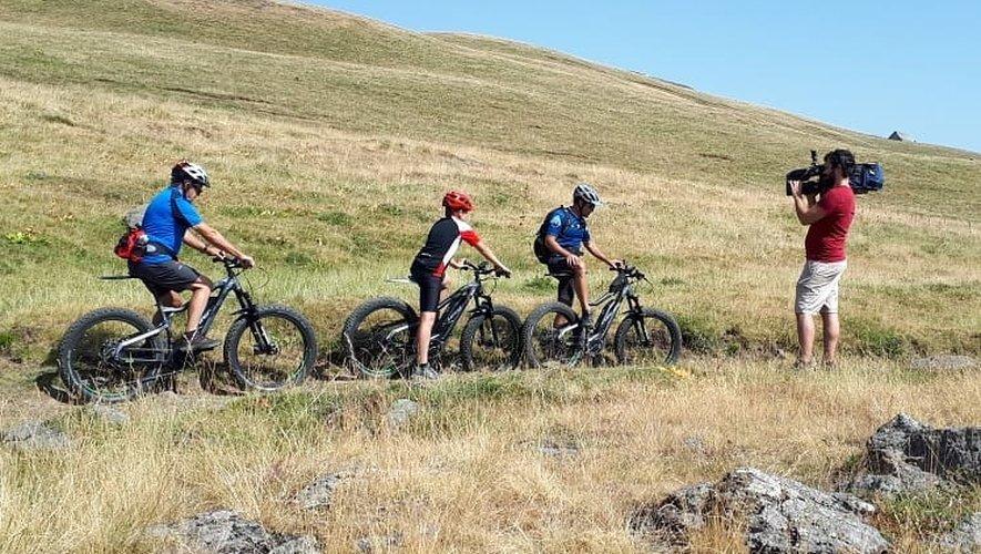 Le fat bike électrique, une autre façon de découvrir l'Aubrac.