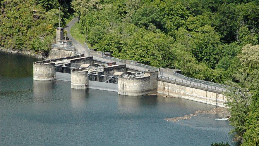 Au cours du mois de juillet, les installations hydroélectriques du bassin Lot-Truyère ont produit plus de deux fois plus d'électricité que d'ordinaire.
