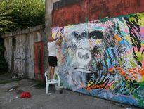 Jo Di Bona a réparé son « Gorille » des Soufflantes à la zone du Centre