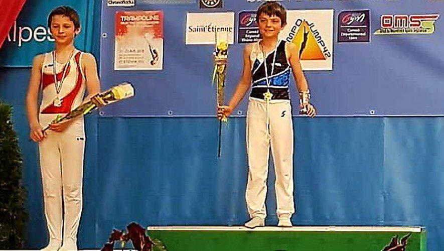 Gymnastique : le Gym'club ruthénois présent sur tous les fronts