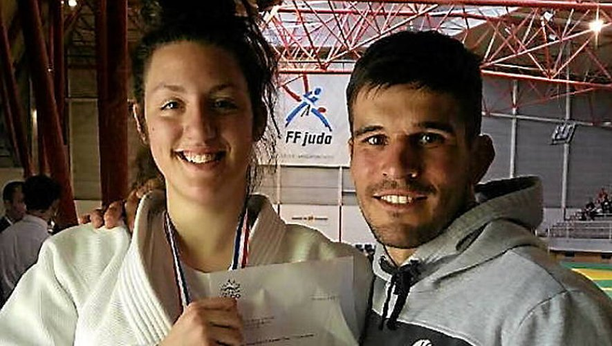 Chloé Sincholle et Clément Caors ont brillé à Toulouse.