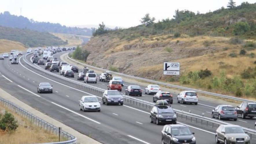 A contresens sur l'autouroute A75, un automobiliste interpellé à Verrières