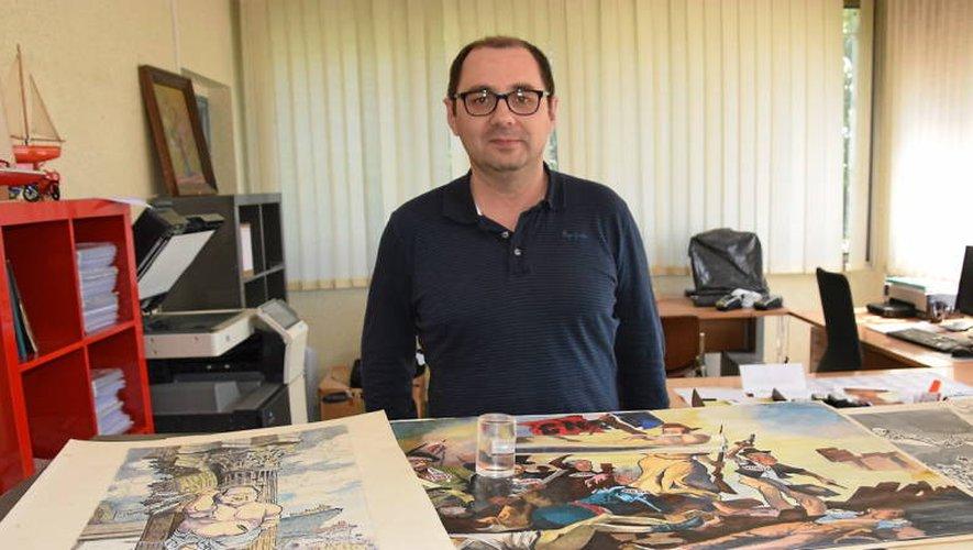 Hervé Legroux, commissaire-priseur, met en vente les dessins de Raoul Cabrol.