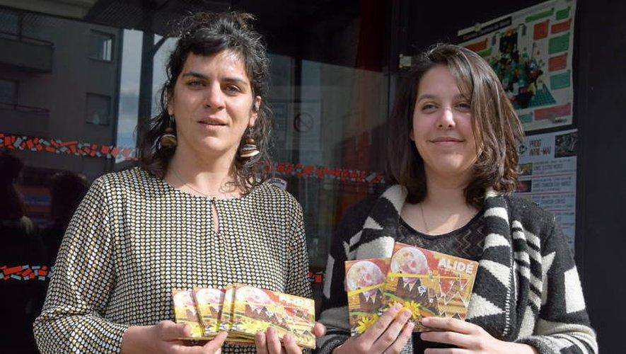 Nathalie Marty de Sirventès et Clémentine Bonin du Club concrétisent leur partenariat à travers cette soirée (Photo OC).