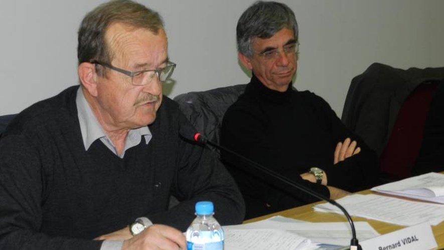 Bernard Vidal, le « Monsieur Finances » de la communauté, a rapporté 29 des 41 points de l'ordre du jour.