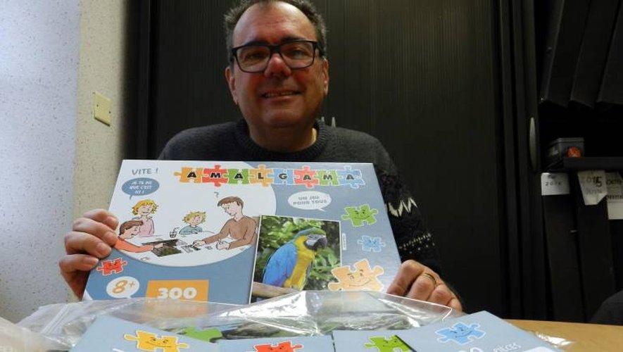 «Amalgama», le jeu créé et commercialisé par Patrick Portes.