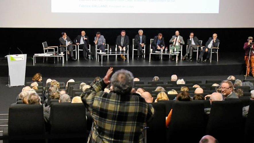 «Un moment fondateur» pour le président national, aux côtés de Philippe Panis.