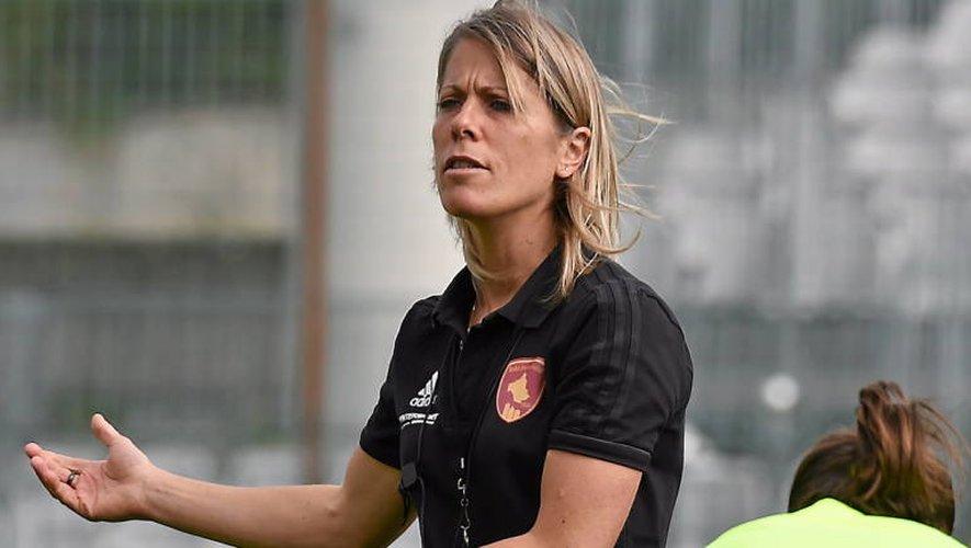Pour la partie théorique de son DES (diplôme d'état supérieur) mention football, Sabrina Viguier a choisi d'écrire un projet pour étoffer l'effectif féminin de l'école de foot ruthénoise (Photo Jean-Louis Bories).