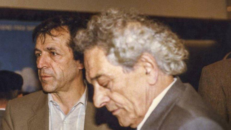 Costa Gavras (à gauche), réalisateur mondialement connu, passera la journée dans le village de Goutrens.