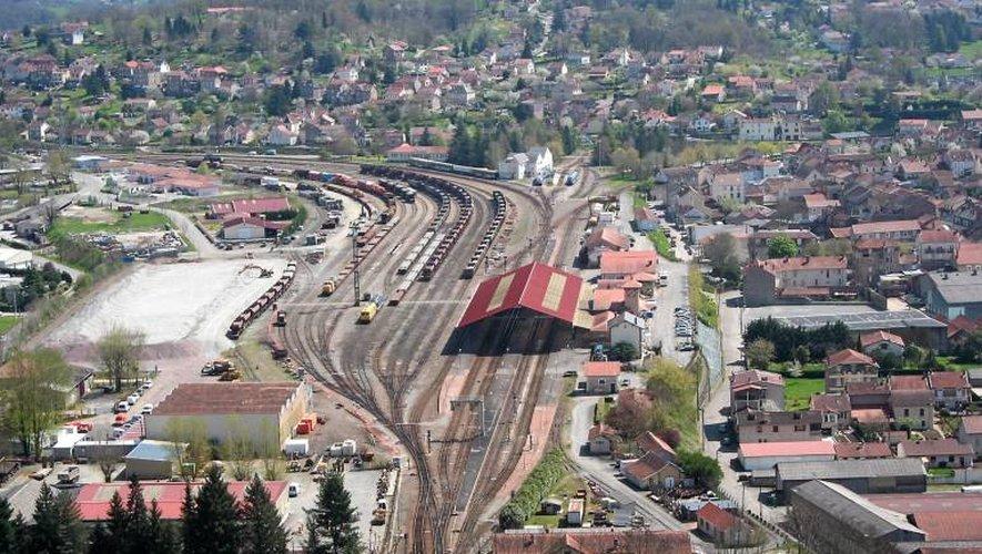 La gare de Capdenac.