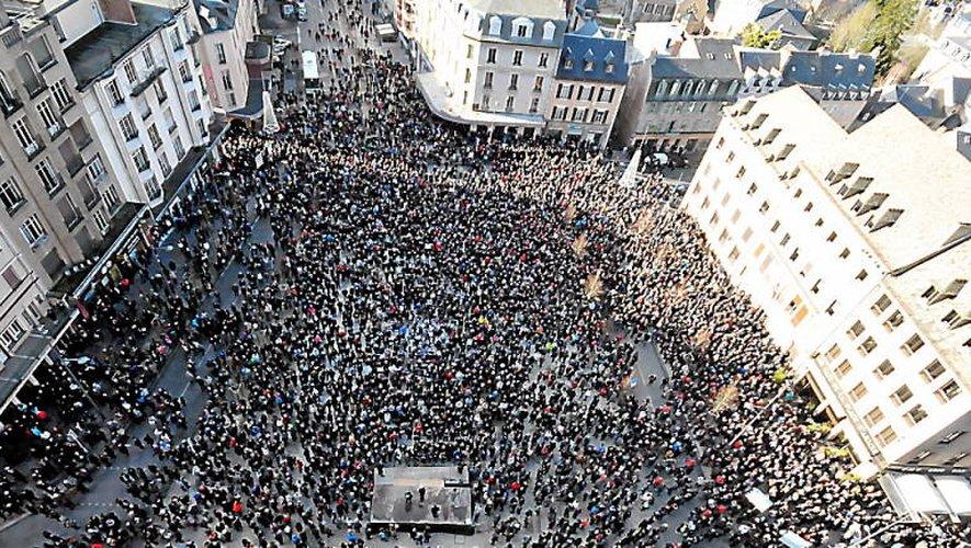 VIDÉO. «Je suis Charlie»: il y a trois ans, l'Aveyron descendait dans la rue