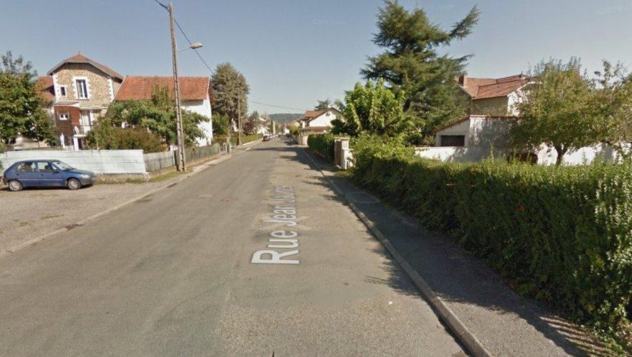 L'incident s'est produit au 44 de la rue Jean-Jaurès à Capdenac.