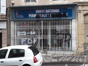 Permanence du FN à Rodez: sitôt inaugurée, sitôt dégradée...