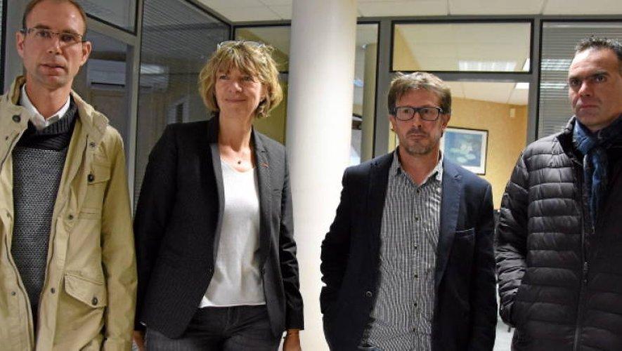 La FDSEA évoque «le théâtre du beurre» avec la députée Anne Blanc