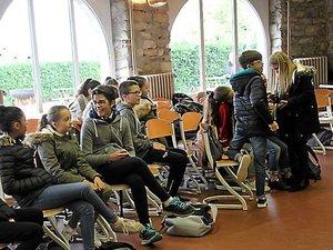 Les délégués de classe de Villefranche en apprentissage de citoyenneté