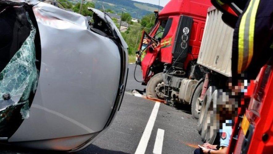 Saint-Léons: une femme grièvement blessée dans un accident