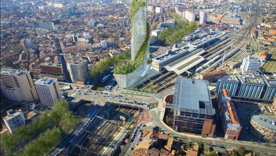 «Occitanie Tower», le futur gratte-ciel toulousain dessiné par l'architecte du World Trade Center