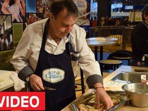 La recette en direct du Salon de l'agriculture : la panna cotta au bleu des Causses