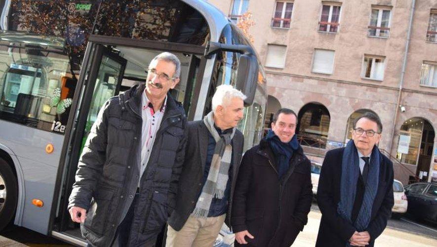 Rodez Agglobus teste son premier véhicule électrique