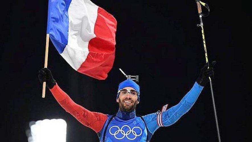 Martin Fourcade devient le Français le plus titré de l'histoire des Jeux olympiques