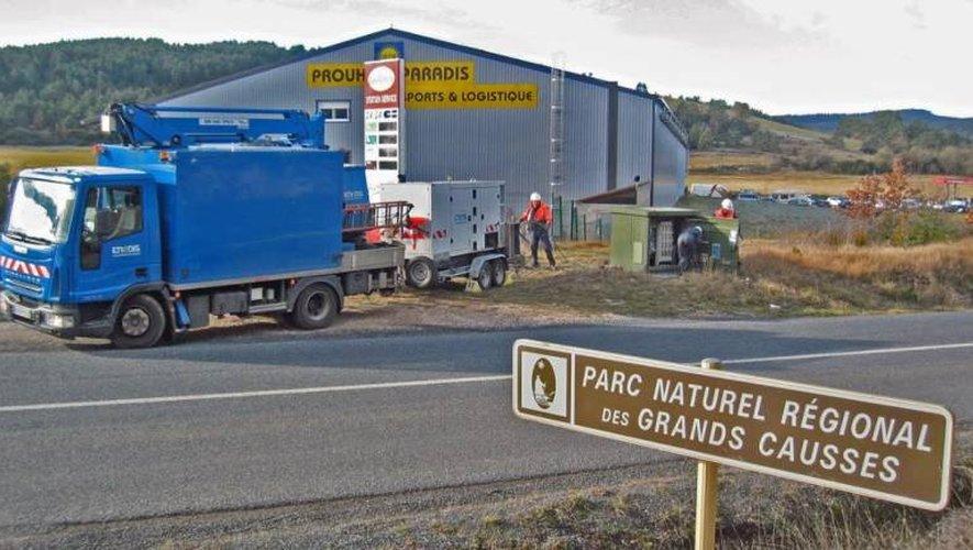 Mise en place d'un groupe électrogène à la zone industrielle Bonsecours enfin secouru au bout de de 26 heures !
