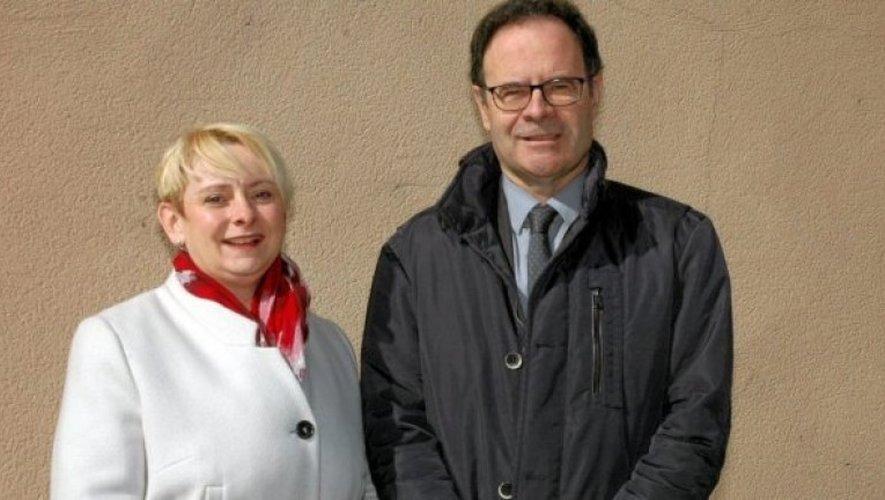 Alain Marc et Christel Sigaud-Laury.