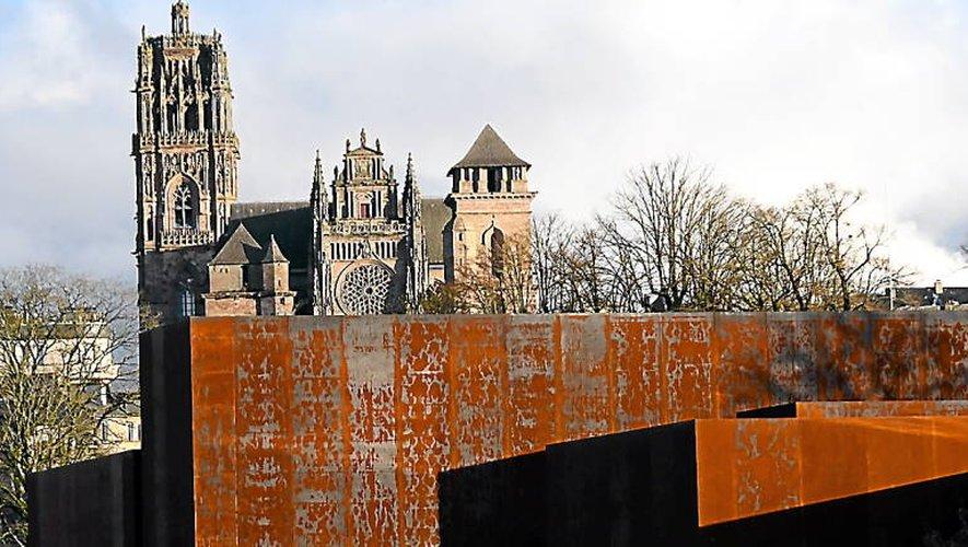 Occitanie Comme Carte De Visite La Cathdrale Notre Dame Fait Partie Des Projets Phares Inscrits Par Ville Rodez
