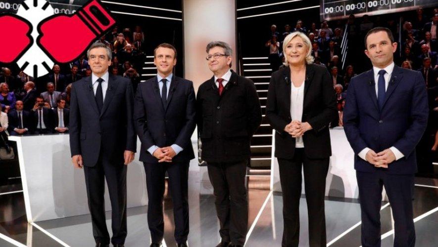 Les cinq candidats ont débatu plus de 3 heures, en direct sur TF1.