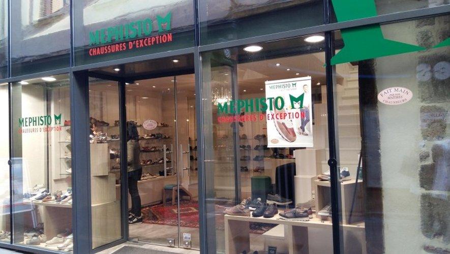 Mephisto ouvre une boutique rue du Touat à Rodez