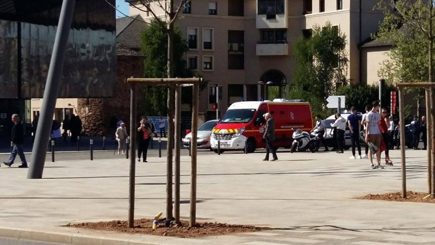 Rodez une dame renversée par une voiture devant le bureau de vote