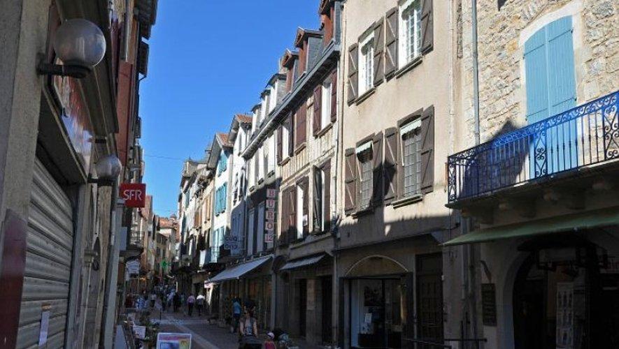 Les faits se sont produits dans la bastide de Villefranche-de-Rouergue.