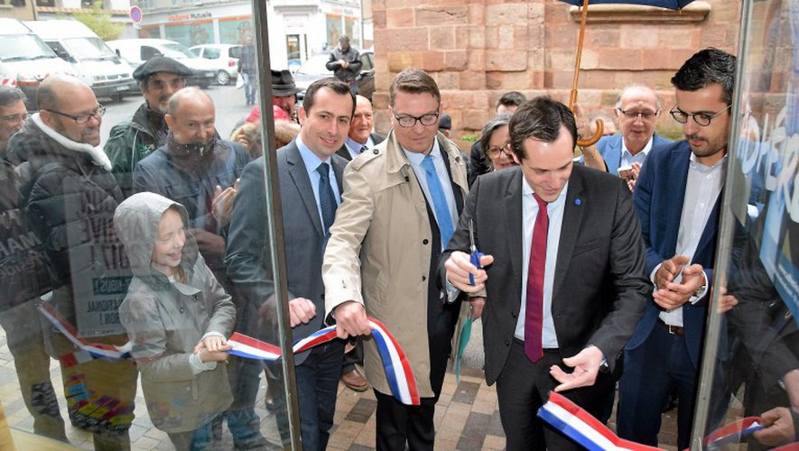À Rodez, la permanence du Front national a été inaugurée hier en présence de Nicolas Bay, député européen.