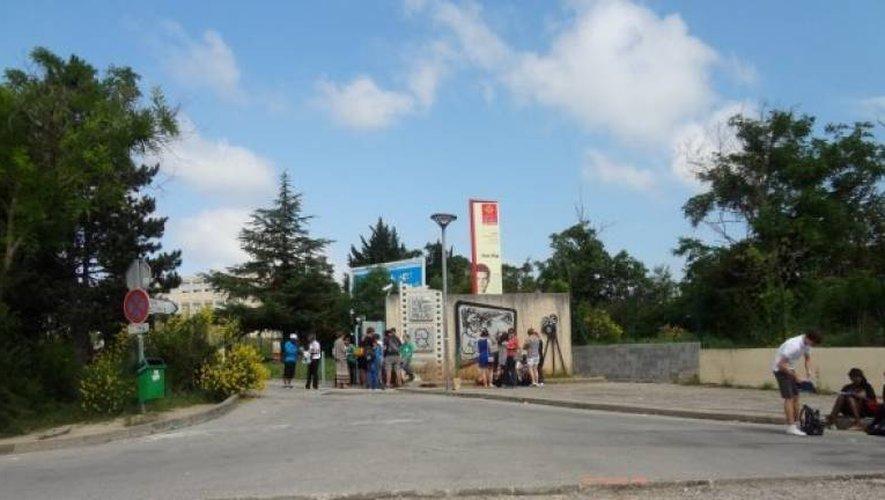 Les faits se sont déroulés près du lycée Jean-Vigo à Millau