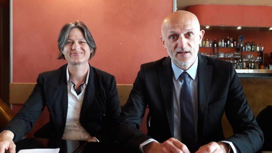 Pauline Cestrières et Stéphane Mazars d'un même pas pour la République en marche !