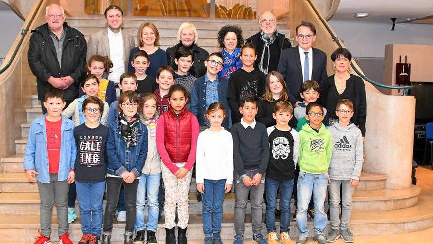 Rodez : les enfants ont pris place dans l'hémicycle du conseil municipal