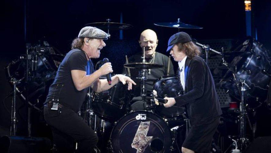 Chris Slade, le batteur d'AC/DC, le bout de légende de cette seizième édition.