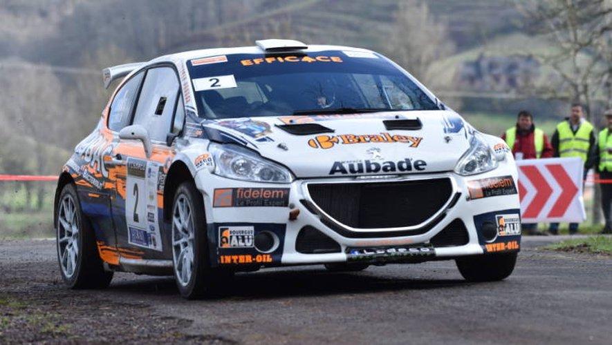 Jean-Michel Da Cunha et sa Peugeot 208 R5 ont signé a signé une folle remontada pour signer un neuvième succès sur le rallye de Marcillac.