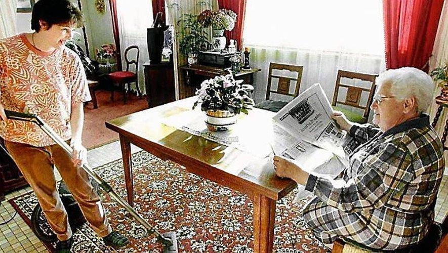 Les aides au maintien à domicile concourent à rester le plus longtemps possible dans sa maison, une préoccupation forte des Aveyronnais.