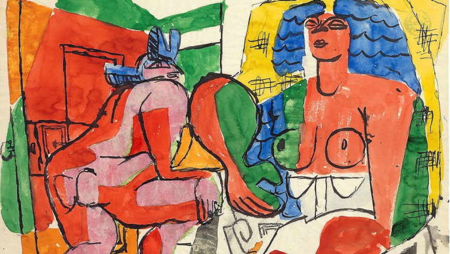 L'expo permettra de découvrir un autre Le Corbusier, comme cette œuvre de 1940.