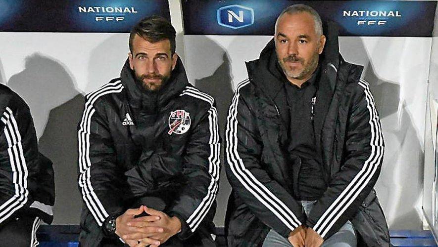 Stéphane Masala (à gauche) a succédé à Frédéric Reculeau (à droite) au poste d'entraîneur des Herbiers.DR