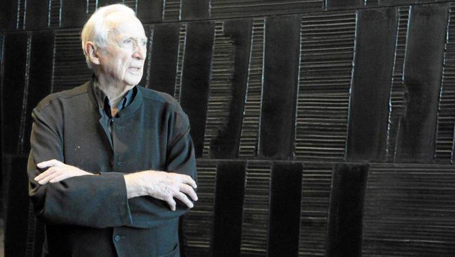 Pierre Soulages, une des figures marquantes de la peinture aveyronnaise