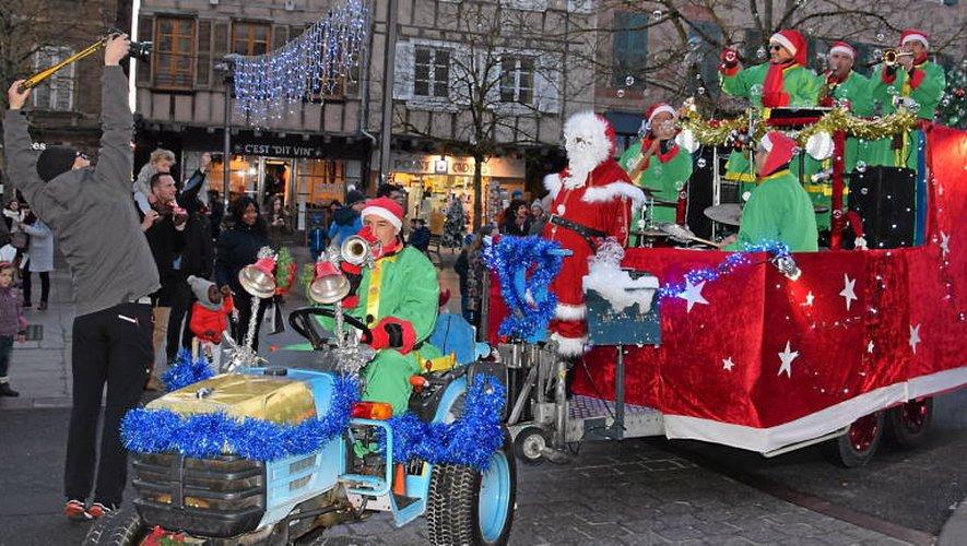 L'esprit de Noël fait battre le cœur de la ville ruthénois