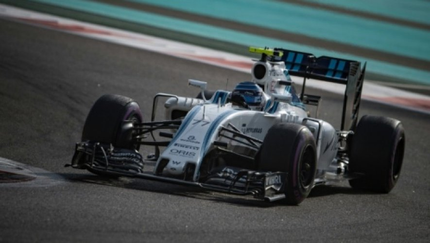 Photo prise lors du Grand Prix de Formule Un d'Abu Dhabi, le 26 novembre 2016