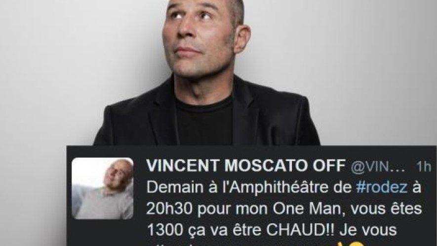 Ancien rugbyman, Vincent Moscato et aussi comédien et producteur de ses spectacles.
