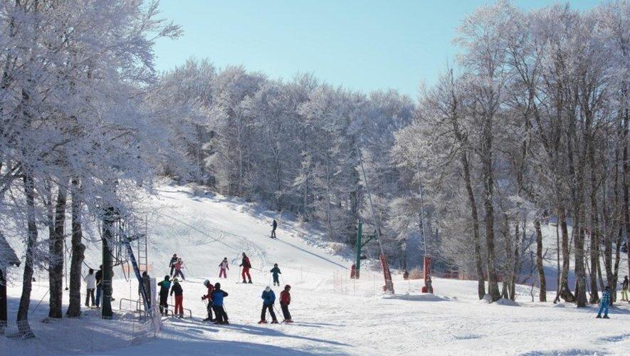 En alpin, le domaine est ouvert les mercredis, samedis et dimanches.