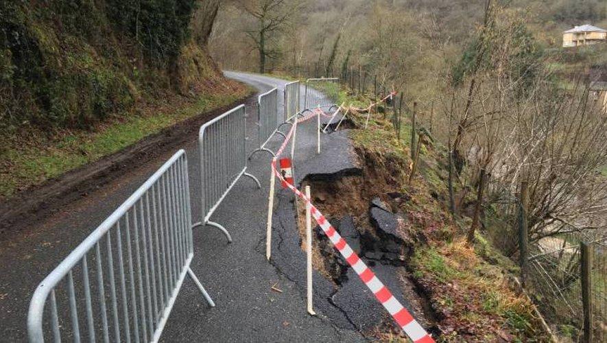 Pont-de-Salars : les premiers dégâts après la crue exceptionnelle du week-end dernier