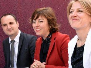 Législatives: Carole Delga en Aveyron apporte son soutien aux candidats socialistes